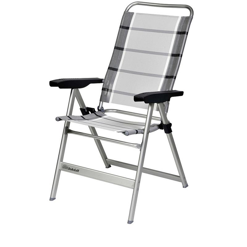 fbf57932312d7 Kempingová skládací židle Dukdalf Dolce silber-anthrazit